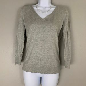 C Wonder Sweater Gray Knit Sweater S D2 0102